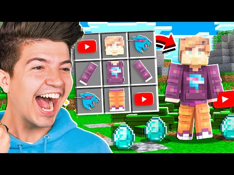 How to Craft MrBeast in Minecraft! *OP*