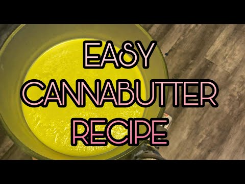 Canna-Butter Tutorial - Crock Pot Recipe