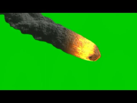 Green screen meteorite falling. A MUST WATCH effect that will blow your mind. thumbnail