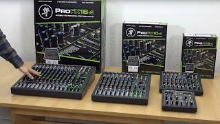 Mackie ProFX Mixer Series
