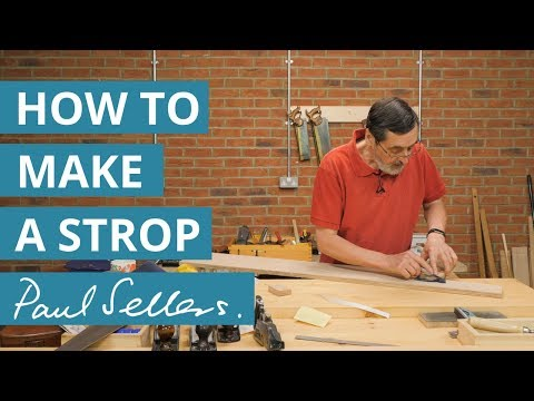 How to Make a Strop | Paul Sellers