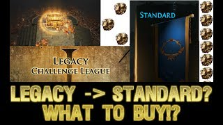 [Path of Exile][2.6] My Top 5 Items to buy in Legacy League to Maximise Standard Value