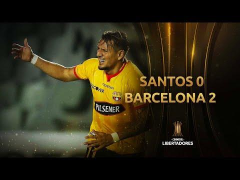 Santos vs. Barcelona [0-2]   Fecha 1 - Fase de Grupos   CONMEBOL Libertadores 2021