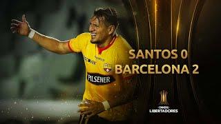 Santos vs. Barcelona [0-2] | Fecha 1 - Fase de Grupos | CONMEBOL Libertadores 2021