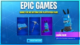 Get new FREE CELEBRATION Pack 7 in Fortnite! (Playstation Plus Skins) German