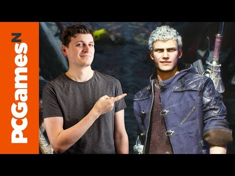 Devil May Cry 5 gameplay   15 minutes of furious combo action thumbnail