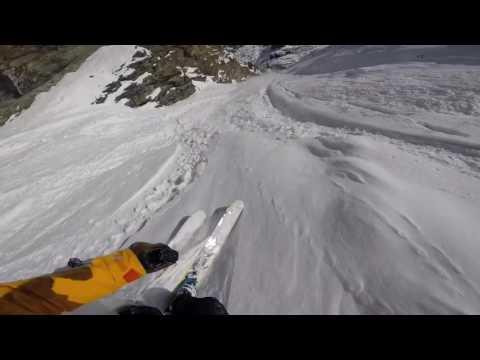 #HaveBackPackWillTravel. Zermatt Couloir