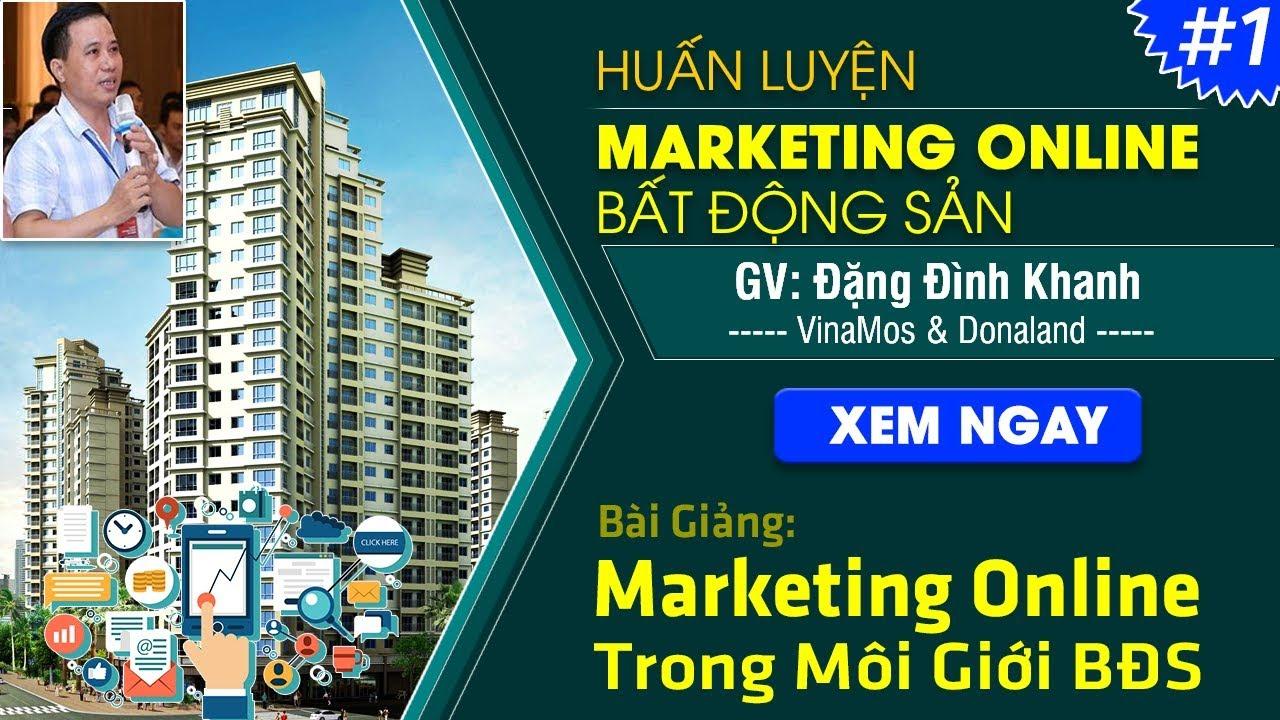 Thực trạng ứng dụng marketing online trong lĩnh vực môi giới bất động sản tại Việt Nam