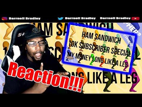 Ham Sandwich - MY MONEY LONG LIKE A LEG: THE ANTHOLOGY (feat. everyone lol) DB Reaction!