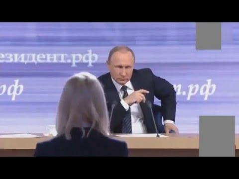 Putine Türk Bayrağı sallayan AA muhabiri