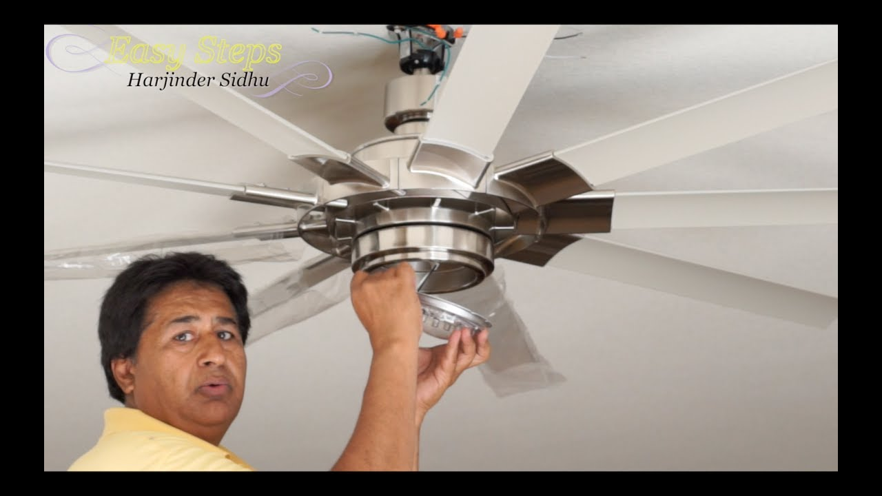 How To Install 72 Inch Ceiling Fan Slinger Ii Fanimation
