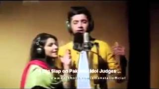 A Big Slap on Judges | Sun Raha Hai Tu | Pakistan Idol | Awsm Voice | Full Video | HD