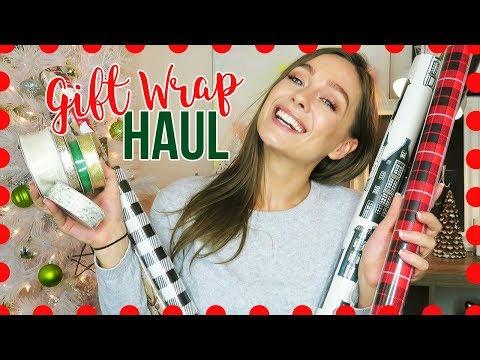 2017 Christmas Holiday Gift Wrap Haul