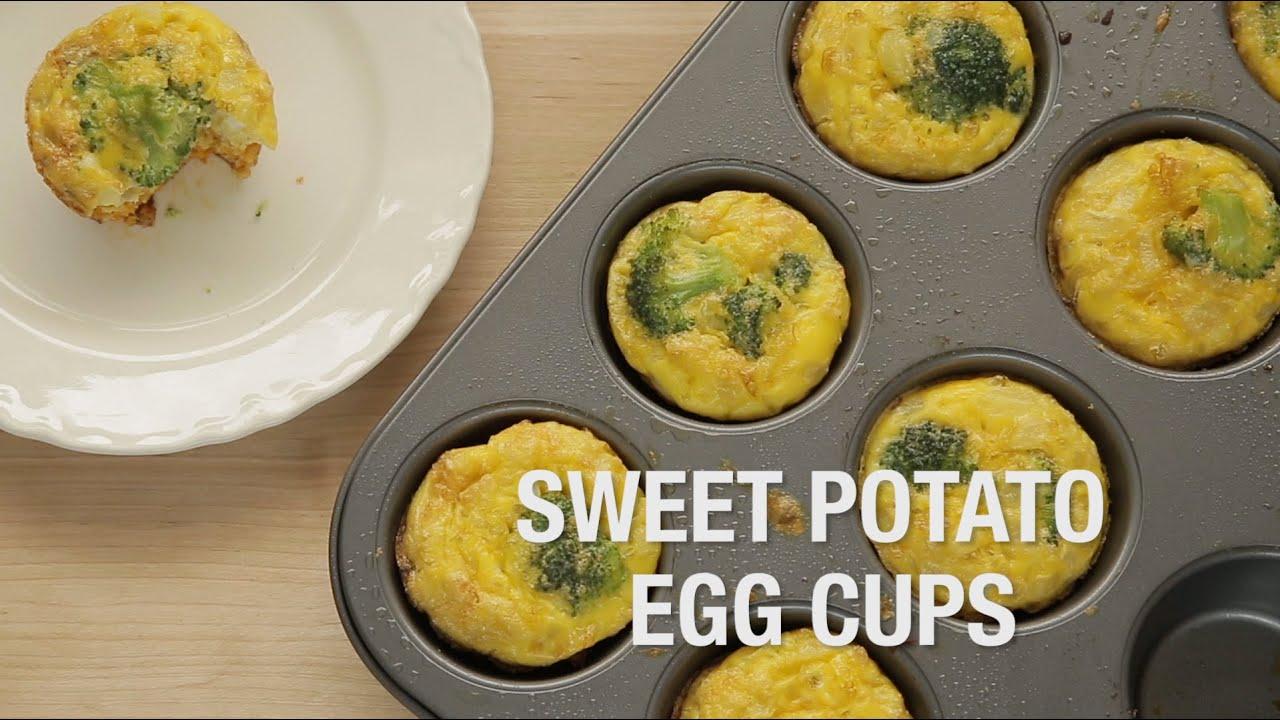 Sweet Potato Egg Cups Youtube