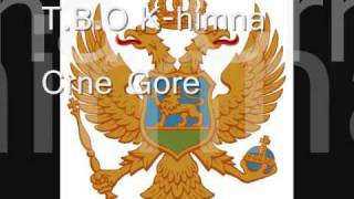 The books of knjige himna Crne Gore