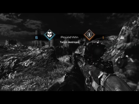 Call Of Duty Ghosts S & R with bots.Only Snipers