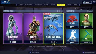 Fortnite Item Shop 2/8/19 Guan Yu Skin Returns