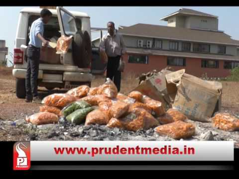FDA CONFISCATES ADULTERATED FOOD ITEMS IN PANAJI