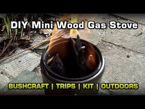 DIY Mini Wood Gas Stove