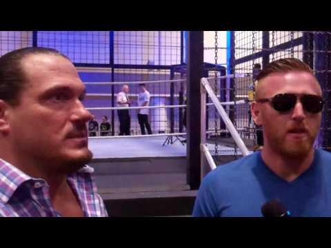 WWE Rhyno, Heath Slater at WrestleMania Axxess - Orlando 2017