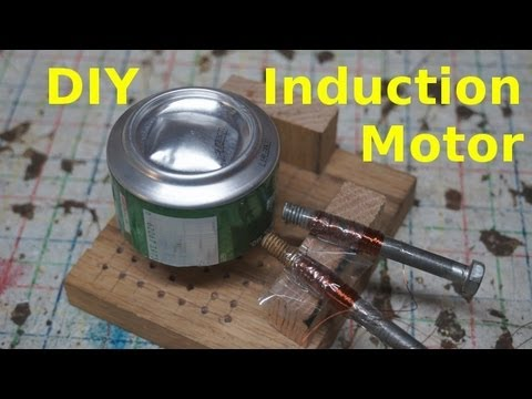 Home Made Induction Motor
