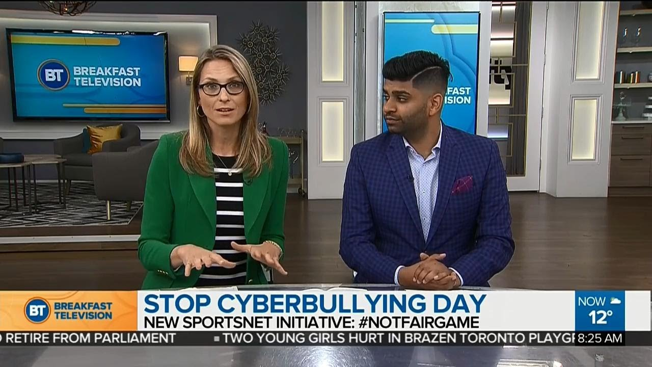 How Sportsnet's helping stop Cyber Bullying #NotFairGame