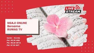 Download lagu [LIVE] NGAJI ONLINE RuWaS #113 Al-Qolam 35-dst (Baca)