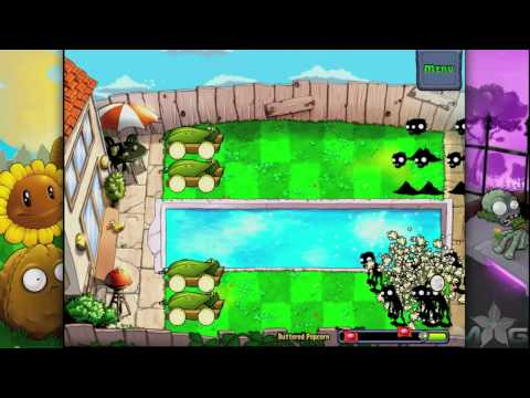 Plants vs Zombies Mini-Game Buttered Popcorn