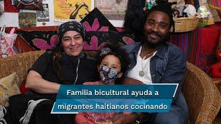 Esta familia haitiano mexicana nos abrió las puertas de su hogar para conocer un poco de sus historia y sus retos como familia bicultural