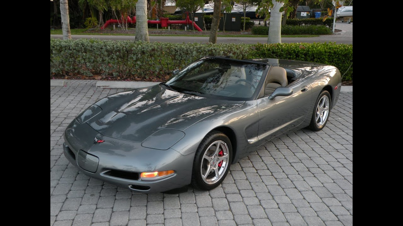 2004 chevy corvette convertible for sale auto haus of fort. Black Bedroom Furniture Sets. Home Design Ideas