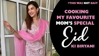 Cooking my favourite Mom's Special Eid ki biryani | This was NOT easy! | Gauahar Khan
