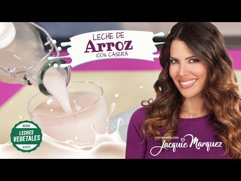 COMO HACER LECHE DE ARROZ I Leches Vegetales #3 - Jacquie Marquez