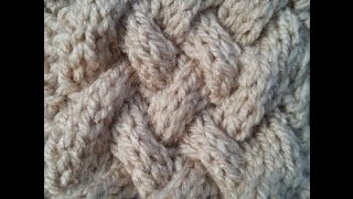 Basket Cable | Knitted Pattern