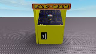 roblox tutorial - pac man machine (decals)