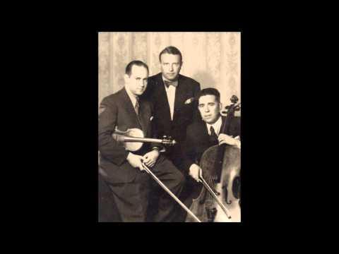 Schubert - Piano trio n°2 - Oistrakh / Knushevitsky / Oborin