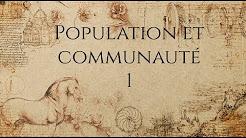 Vido #1.1 : Communaut et population