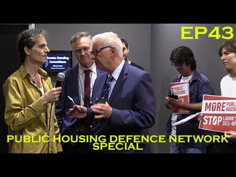 Public Housing Defence Network Special Weekly Catch Up   Out and About with Trev EP43