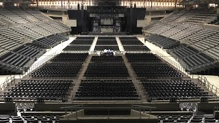 Tour Vlog - View from the stage @Palais 12 (Brussels)