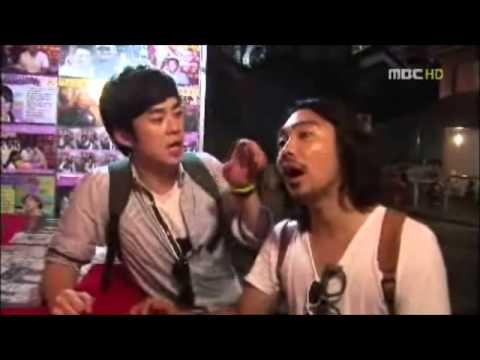 韓國釜山MBC電視臺 - 80後環遊世界 - 在廟街頗有名氣的算命攤檔睇相 - 黃晉虎師傅 - YouTube