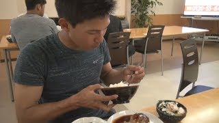 寮生たちの食事風景にカメラが潜入!【広報カメラ】