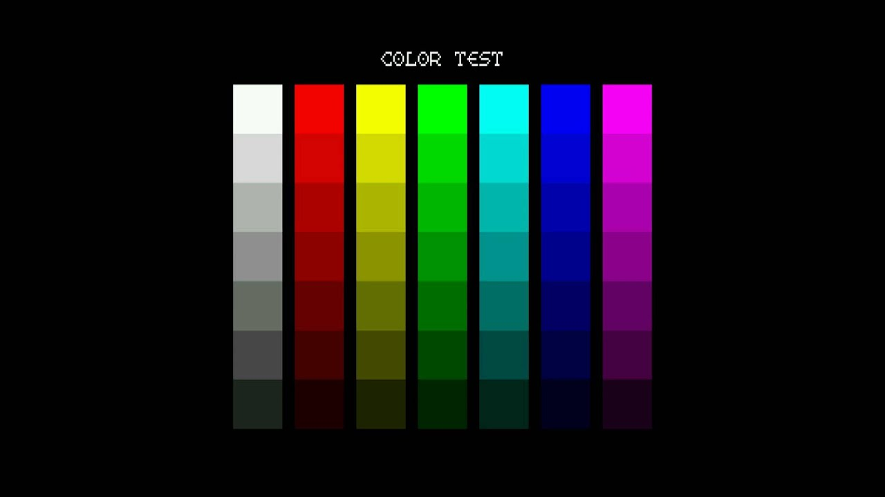 columns color test screen for testing people hd 1080 inside