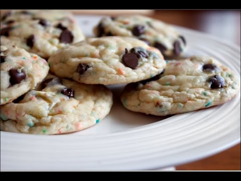 How To Make Cake Mix Cookies | 4 Ingredients ONLY