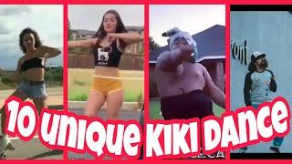 10 unique Kiki dancing||TOP 10 Kiki dance of the world#Best Kiki dance challenge#Kiki