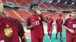 ไทย 0(0-0)1 ยูเออี GSB BANGKOK CUP 2018 (U-19) THAILAND 0-1 UAE : VDO HD - TheFootball