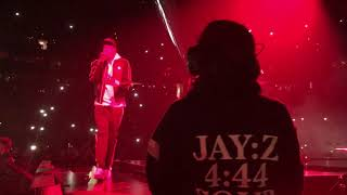 JAY Z 4:44 TOUR BOSTON MA 11/25/17 FRONT ROW GIVE IT TO ME / PSA TD GARDEN