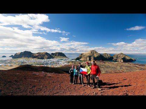 Heimaey island near Iceland (GoPro)