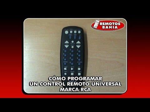 CÓMO PROGRAMAR CONFIGURAR UN CONTROL REMOTO UNIVERSAL RCA RCU404 REMOTOS BAHIA