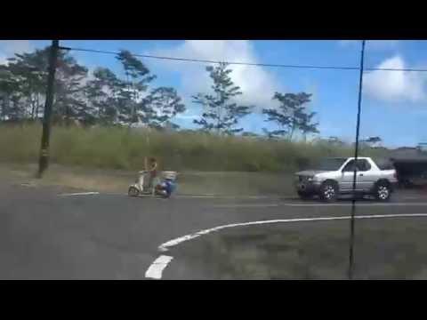 Road From Pahoa to Kapoho