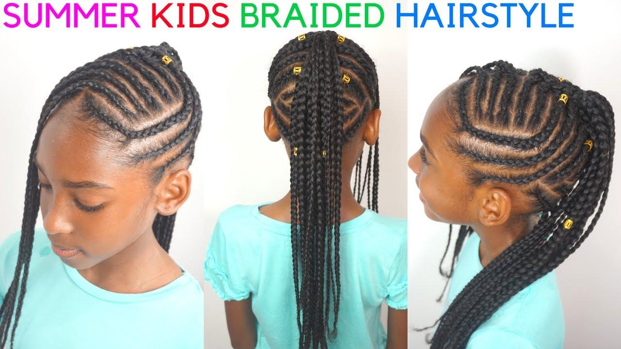 kids braided hairstyles tutorial