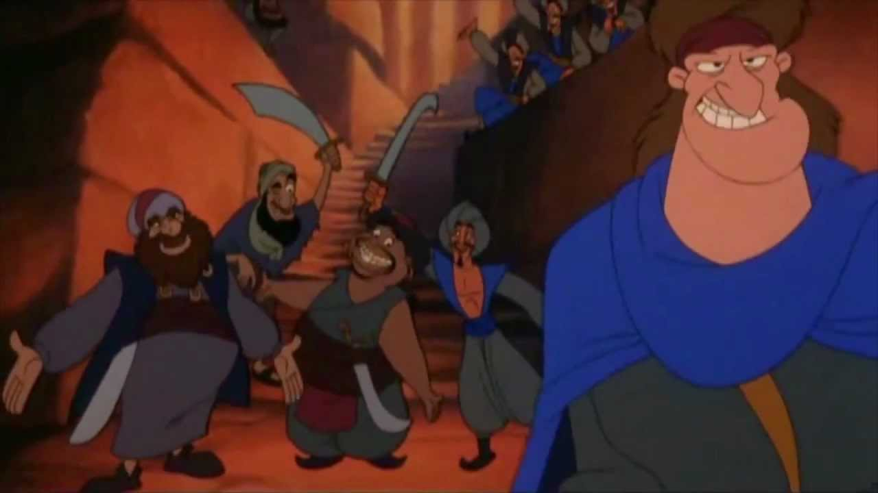 Aladdin Welcome to the Forty Thieves Arabic HD YouTube
